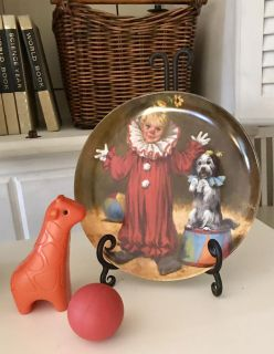John McClelland tommy the clown collector plate