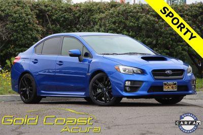 2016 Subaru WRX Limited (Blue Pearl)