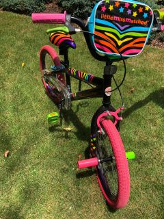 Little MisMatched 20 girls bike