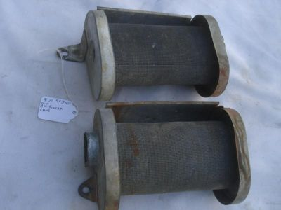 Buy 1972 Honda SL350 K2 Pair air cleaner body Left and right CB CL AHRMA motorcycle in Foristell, Missouri, US, for US $25.00