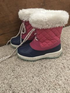 Carters Snow Boots - Toddler Size 10