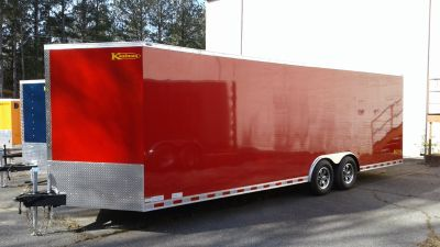 NEW 2019 Kaufman Enclosed Car Trailer