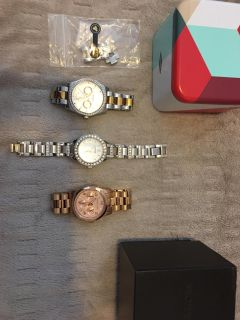 Michael kors, fossil watches