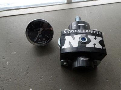 Find Nitrous Express Fuel Pressure Regulator Universal Gauge 15952 4.5-9 psi C4 motorcycle in Euclid, Ohio, United States, for US $65.00