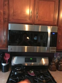 Kenmore Elite Microwave/Convection