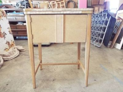 Sewing Machine Cabinet*Craft*Antique