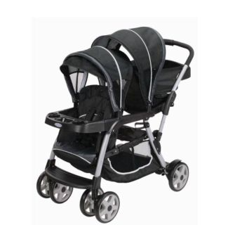 Ready2Grow Click Connect LX Double Stand and Ride Stroller