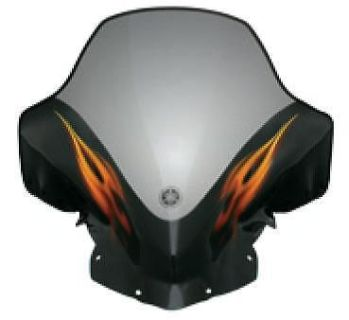 Purchase Yamaha Fire on Snow Designer Tall Windshield 08-14 FX Nytro Raging Inferno motorcycle in Maumee, Ohio, United States, for US $77.99