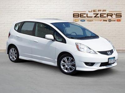 2011 Honda Fit Sport (Taffeta White)