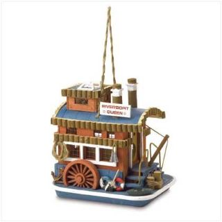 Designer Birdhouse: Riverboat Queen 37922 New