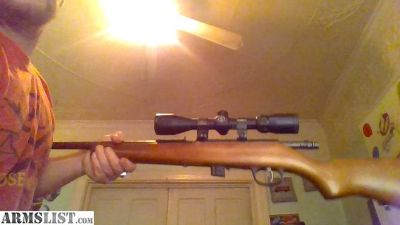 For Sale/Trade: marlin xt22 bolt action rifle with bushnell optic
