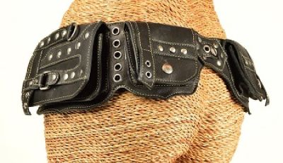 Buy Burning Man Leather Utility Belts Online - Hipstirrbelts.com