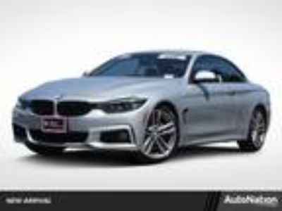 Used 2018 BMW 4 Series Glacier Silver Metallic, 11.5K miles
