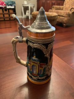 Beer Stein..9 in tall..Made in Germany stamped on bottom.
