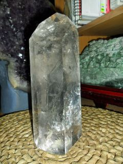 Exceptionally and Large and Beautiful Smokey Quartz Cut Highly Polished Point