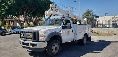 2008 FORD F550 ALTEC AT37