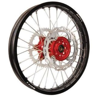 Purchase WARP 9 REAR WHEEL 19x2.15 Black Rim/Red Hub HONDA CR125/250/500 CRF250/450R/X motorcycle in Milford, Ohio, US, for US $389.95