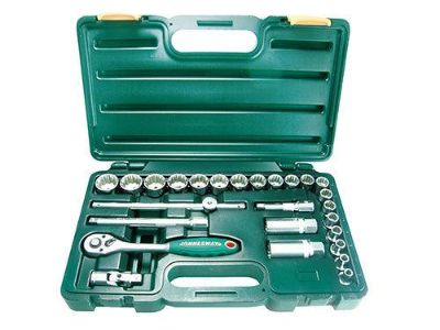 "Buy Jonnesway SuperTech 26pc ""One Drive Fits All"" Socket Set (3/8"" Drive) motorcycle in Indianapolis, Indiana, US, for US $29.00"