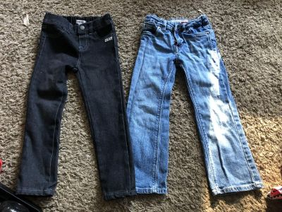 Girls size 4 jeans