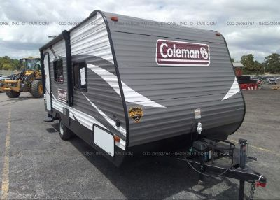 2018 COLEMAN TRAVEL TRAILER