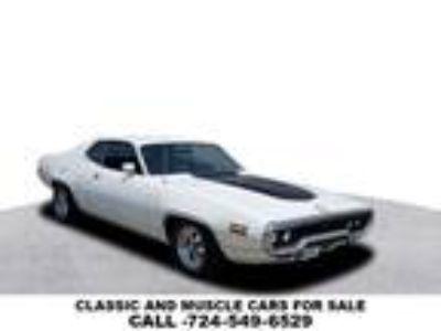 1971 Plymouth Road Runner White, 27K miles