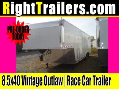 8.5x40 Vintage Outlaw | Race Car Trailer