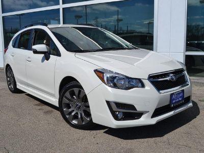 2016 Subaru Impreza Wagon 2.0i Sport Premium (White)
