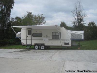 2002 Rockwood 232 ROO Travel Trailer RV Camper $1500