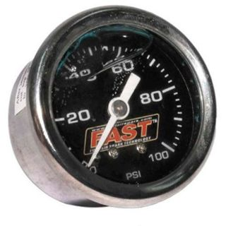 Purchase FAST 54027G Fuel Pressure Gauge 100 psi motorcycle in Delaware, Ohio, United States, for US $45.33