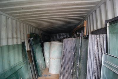 COMMERCIAL WINDOWS WITH FREE CONTAINER