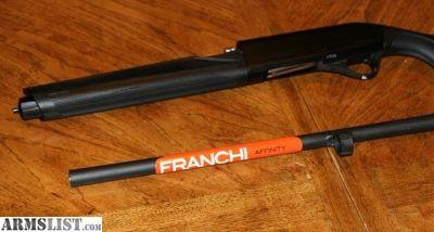 For Sale: FRANCHI AFFINITY 12GA