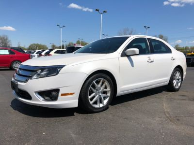 2012 Ford Fusion SEL (White)