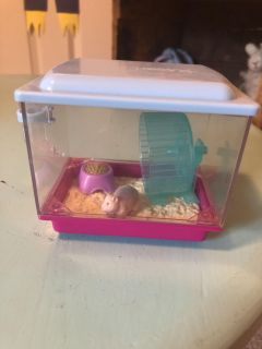 American girl doll hamster and cage.
