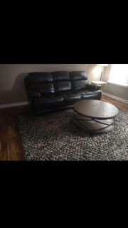 Espesso Reclining Leather Couch