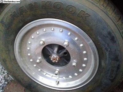 5x205 Centerline style wheels & tires