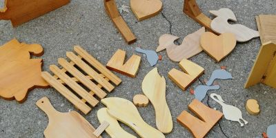 A Bunch of Wood Craft Items to Paint