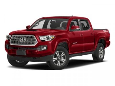 2018 Toyota Tacoma TRD Sport Double Cab 5' Bed V6 (MIDNIGHT BLACK METALLIC)