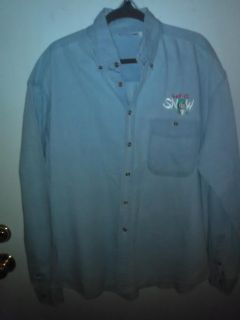 """Women's Jean """"Let It Snow"""" Shirt (see pictures for back) Size Large"""