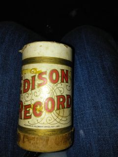 Edison records cylinder records