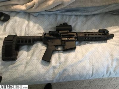 For Sale: Ar pistol and shield 9mm