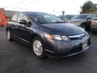 2007 Honda Civic Hybrid 4dr Sedan