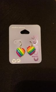 New Claire's Earrings