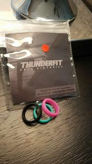 Brand new silicone rings