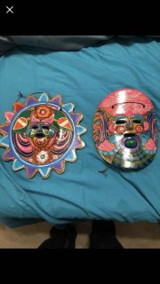 Small wall hangings from Mexico