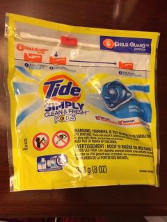 Brand new tide simply clean and fresh pods laundry detergent refreshing breeze