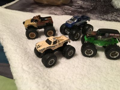 Gently used Monster Trucks