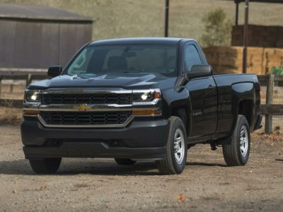 2018 Chevrolet Silverado 1500 WT (Summit White)