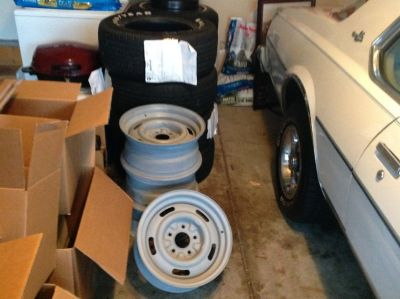 Chevrolet Rally Rims 15x7