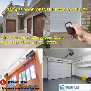 Expert Garage Door Opener Repair Services $25.95 77379 Spring TX