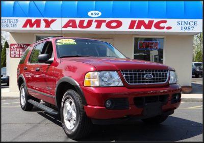 2004 Ford Explorer XLS (Red Fire Metallic)
